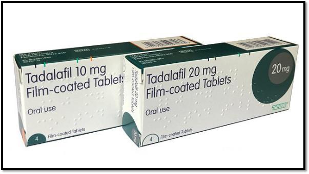 Tadalafil Erectile Dysfunction Medication 10mg and 20mg