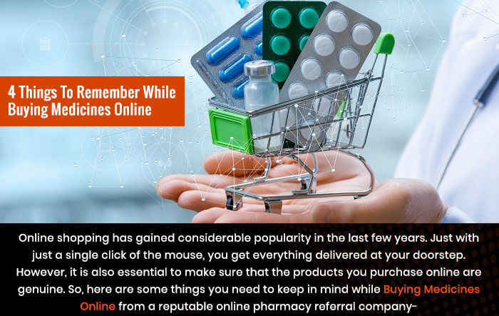 4 Things to Remember While Buying Medicines Online