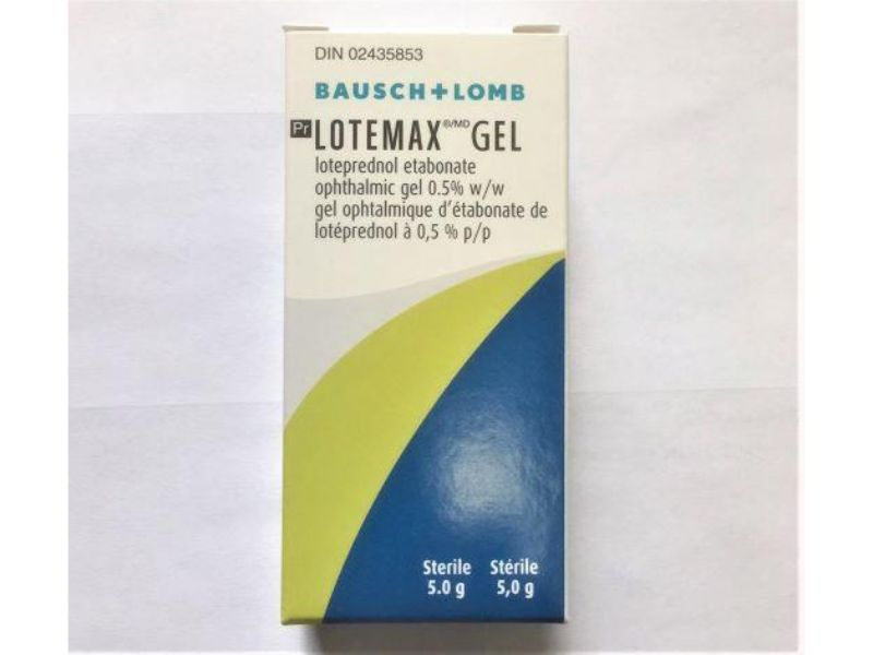 Buy Lotemax (Loteprednol Etabonate) Ophthalmic Gel Online