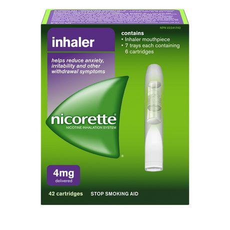 Nicorette-inhaler