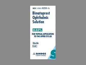 Buy Bimatoprost Eye Drops Online